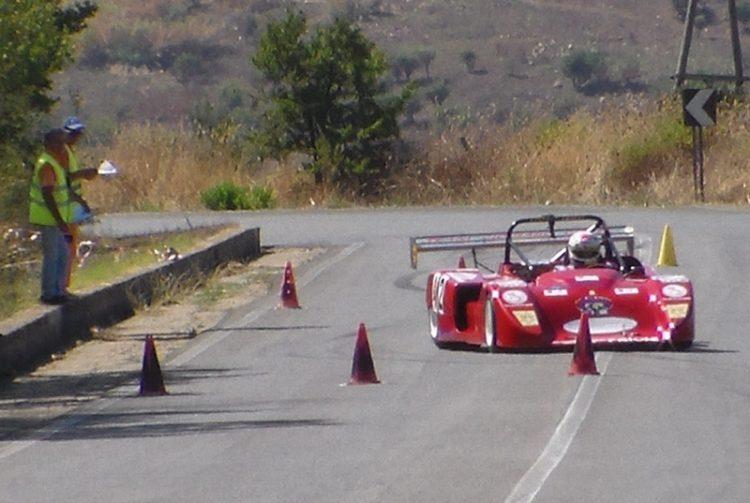 Lo spettacolo della velocità e abilità in salita con lo ''Slalom Civitavecchia-Terme Traiane''