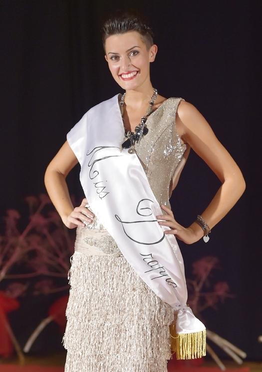 Claudia Visciola è Miss Drappo