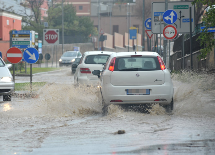 Allerta meteo: forti piogge e venti