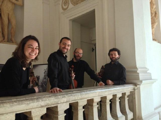 Tarquinia,  il Quartetto Delfico in concerto