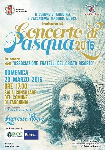 Tarquinia, tutto pronto per il Concerto di Pasqua