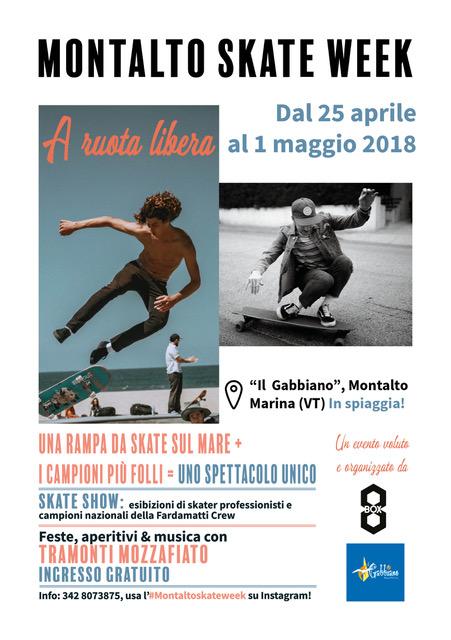 Ecco lo spettacolo della Skate Week