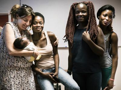 Madri e figli rifugiati, a scuola di futuro con la Comunità S. Egidio