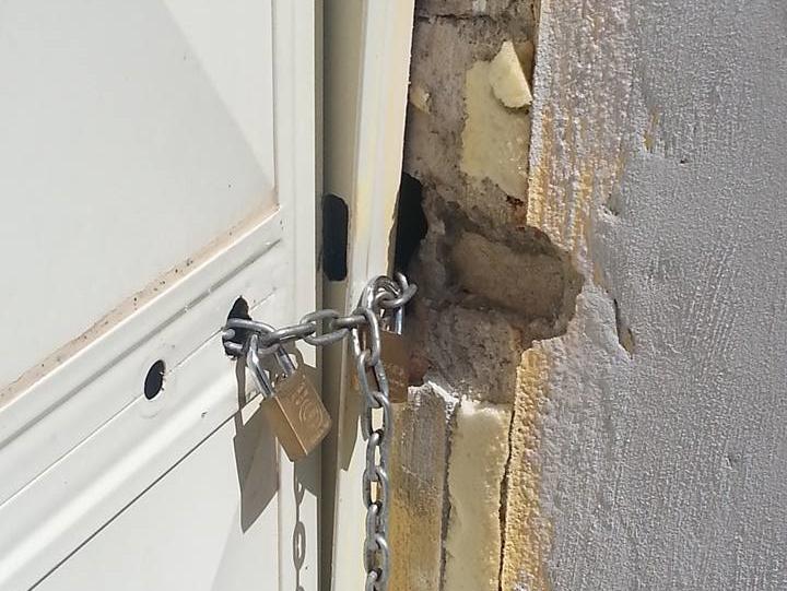 Atto vandalico presso la sede del Team Alto Lazio