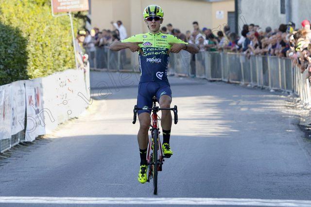 Antonio Tiberi fa volare il Team Ballerini