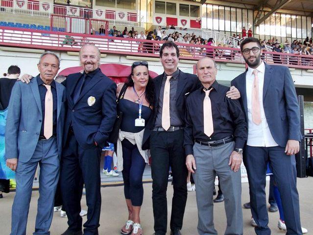 Elisabetta Lupetti eccezionale madrina della nazionale Attori a Grosseto