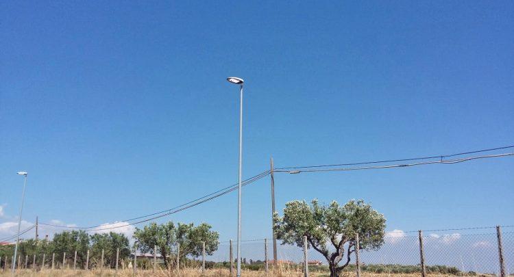 Ultimati i lavori per la sostituzione di 17 lampioni in via Doganale