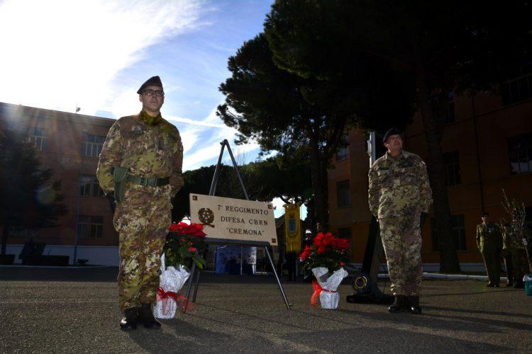 Alla Piave il ventennale del 7° reggimento difesa NBC Cremona