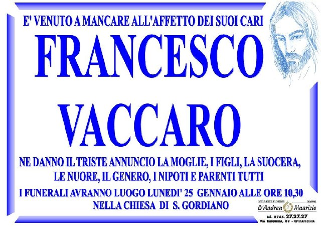 FRANCESCO VACCARO