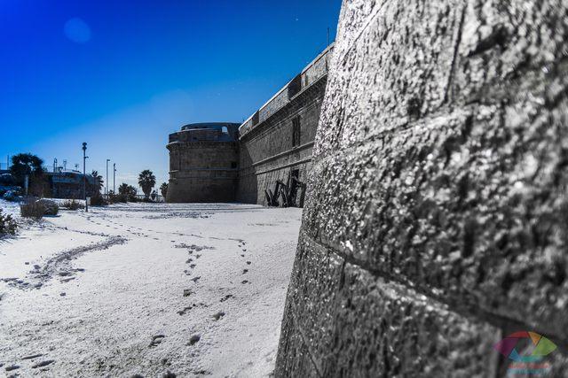 Neve al forte (foto Alessio Lucaroni)