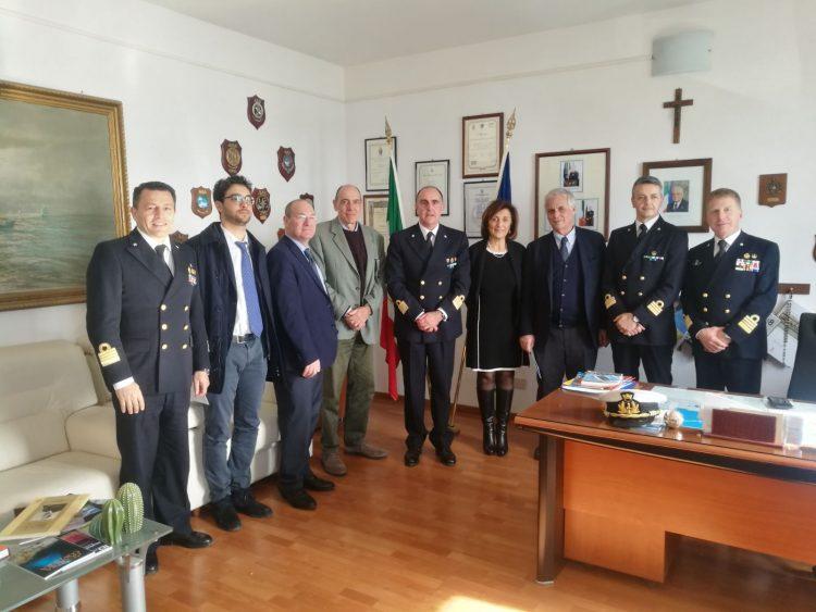 Guardia costiera, la direzione marittima ha incontrato le Procure della Repubblica del Lazio