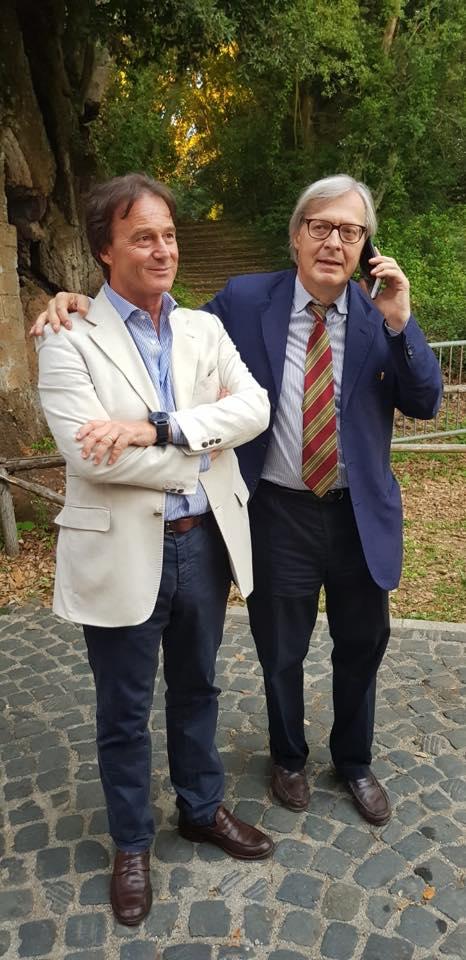 Sgarbi sceglie Bigiotti come presidente della consulta dei sindaci della Tuscia