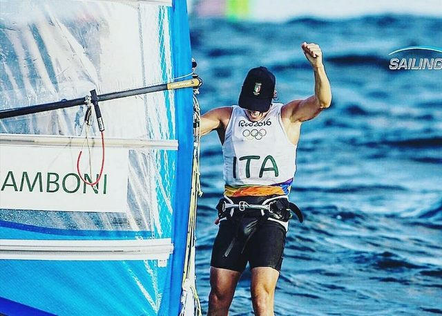 Mattia Camboni vince la Medal Race