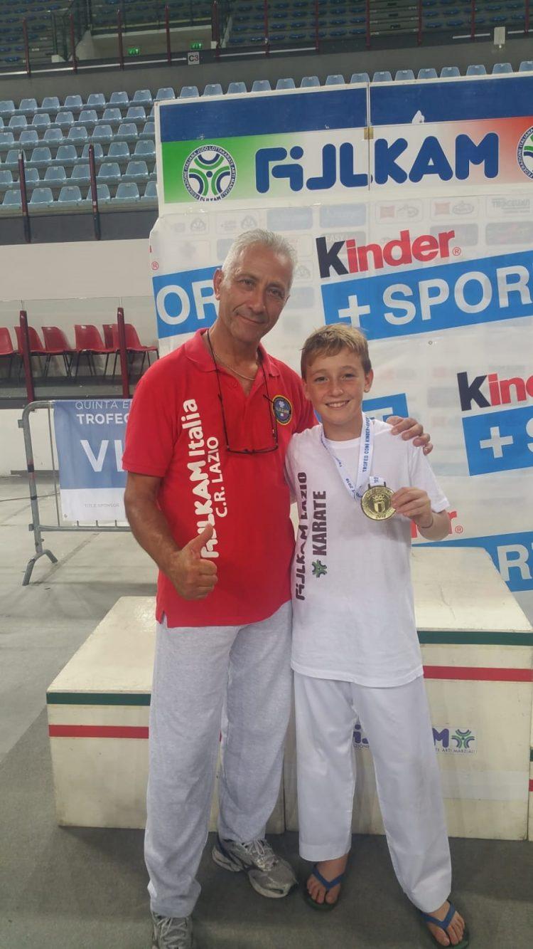 Leandro Risso è campione ''Kinder + Sport''
