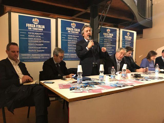 Mencarini al fianco di FI: ''Insieme faremo grande Tarquinia ed il territorio''