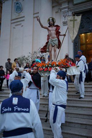 Rinnovata la tradizione della processione del Cristo Risorto