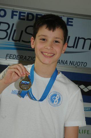 Giosuè Battelocchi campione regionale