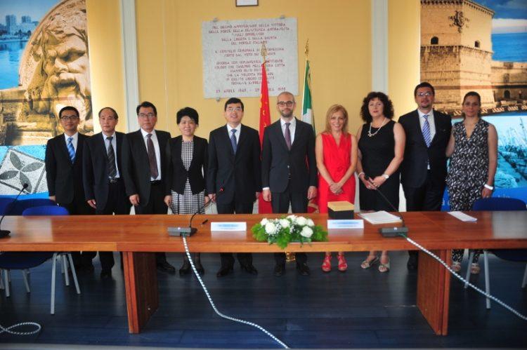 Accordo tra Civitavecchia e Jinan: cinesi interessati anche al porto