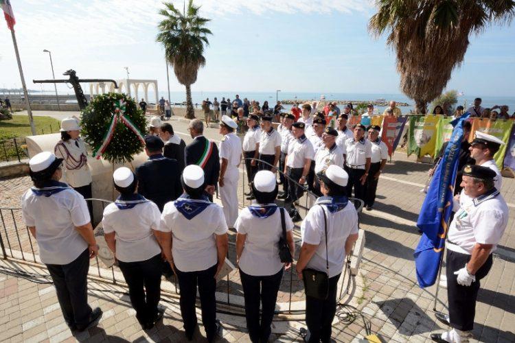 Celebrata la giornata della memoria dei marinai scomparsi in mare