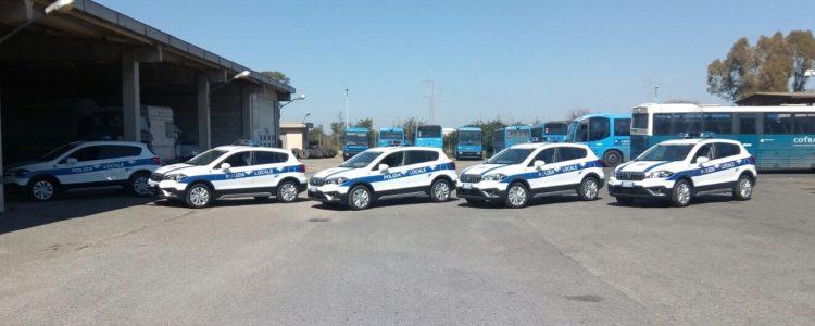 Noleggiate cinque auto per la Polizia locale