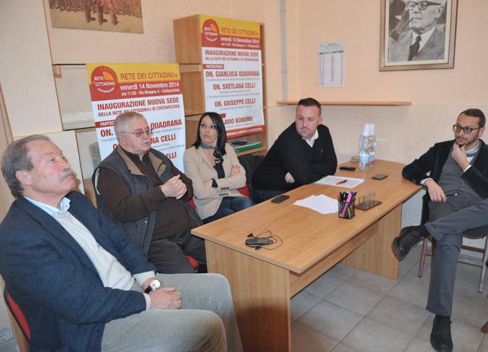 Le Rete dei Cittadini apre alla Federazione delle Liste Civiche