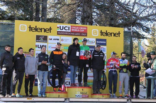 Un grande Team Bike a Fiuggi