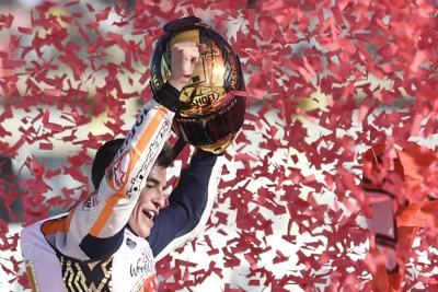 Marquez 6 campione del mondo
