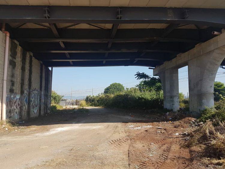 Ladispoli, bonificati i terreni sotto al ponte 9 Novembre
