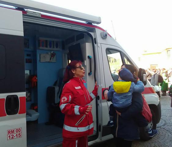 ''La giornata della salute'' organizzata dalla Croce Rossa