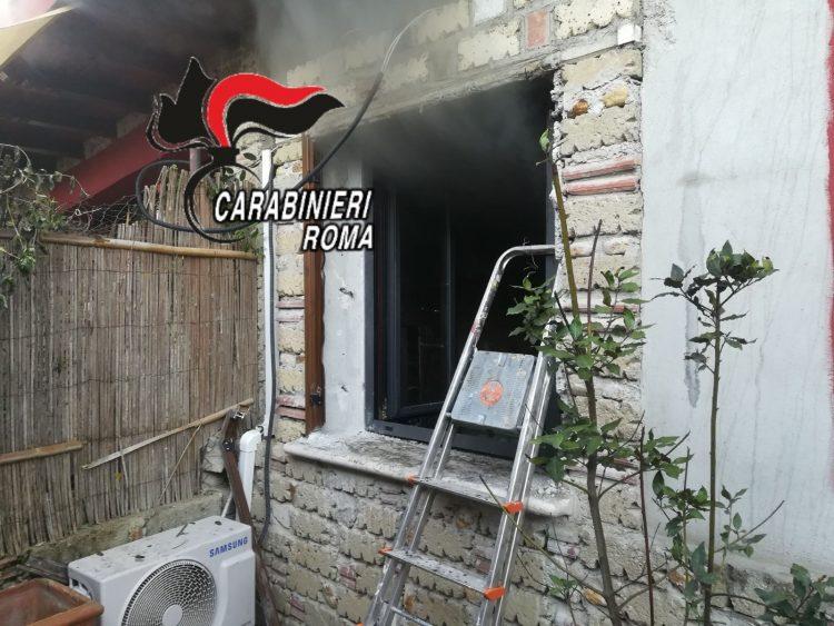 Trevignano Romano, B&B distrutto da un incendio