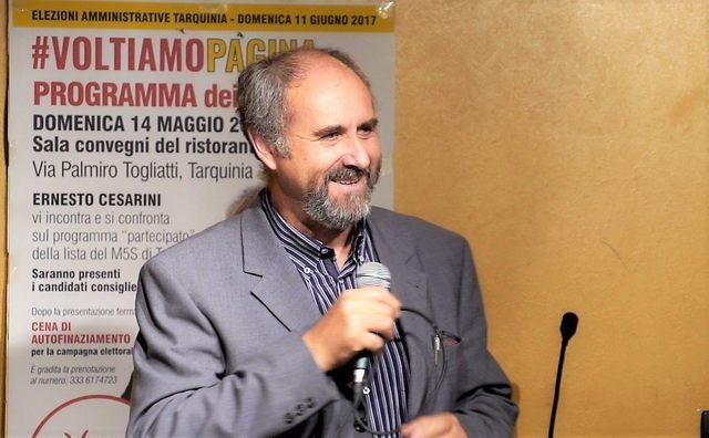 Amministrative Tarquinia, Ernesto Cesarini domani incontra i giovani