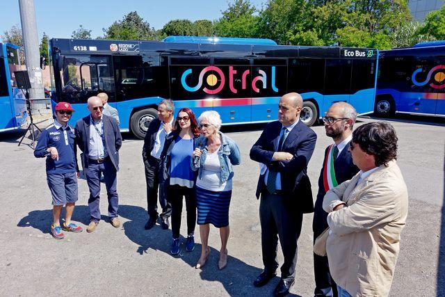 Cotral, cinque nuovi bus per Civitavecchia