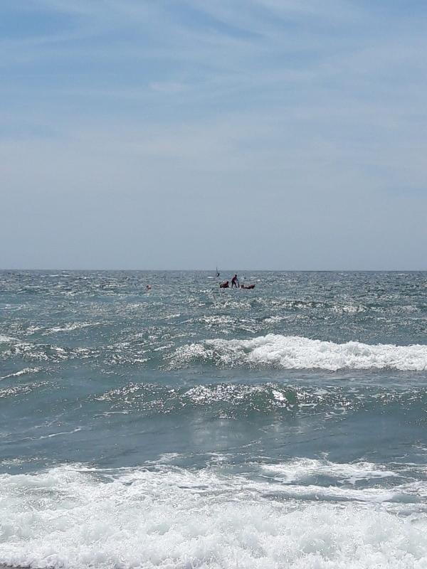 Campo di Mare: ordigno bellico inesploso rinvenuto in acqua