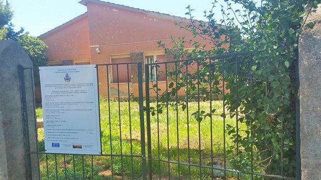 Plesso scolastico di Due Casette: aperti i cantieri