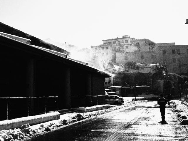 Tramontana dopo la nevicata (foto Fabrizio Condè)