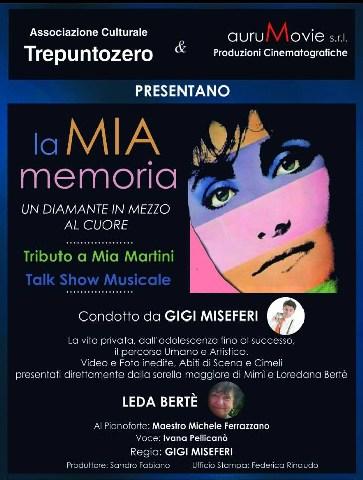 ''La mia memoria'', un tributo e talk dedicato a Mia Martini
