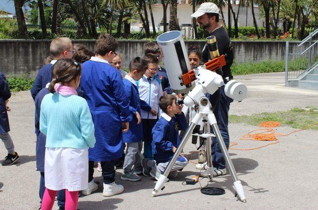 Astronomia, alunni della Primaria protagonisti