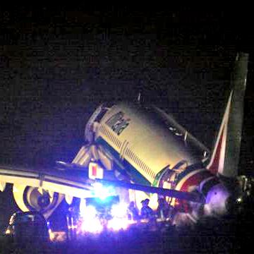 Aereo atterra senza il carrello a Fiumicino: la procura Civitavecchia apre un fascicolo