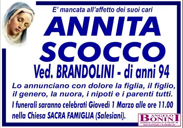 ANNITA SCOCCO Ved. Brandolini