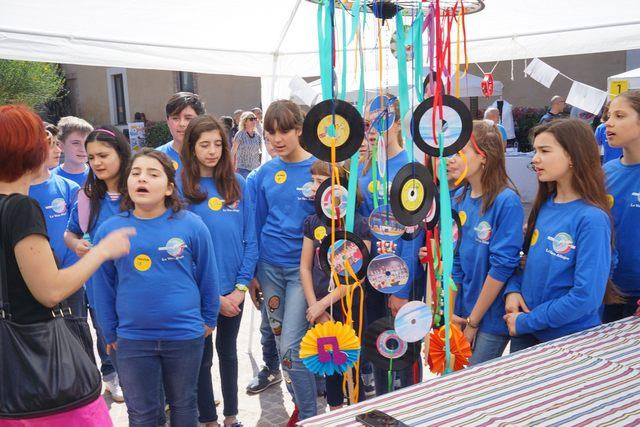 La Cittadella si trasforma per le Olimpiadi della creatività