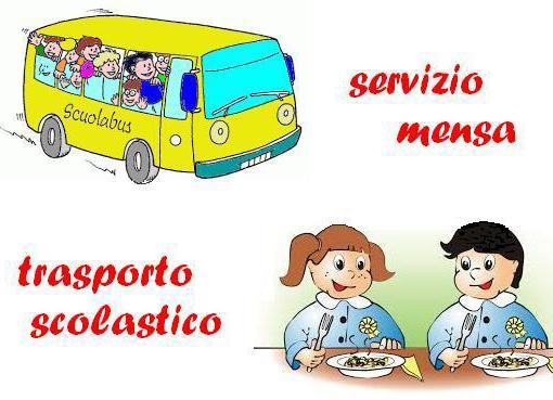 Mensa e scuolabus: da martedì le preiscrizioni
