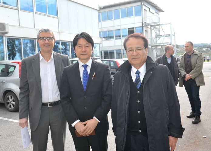 Studenti del liceo Hiraghishi di Sapporo ospiti al Marconi