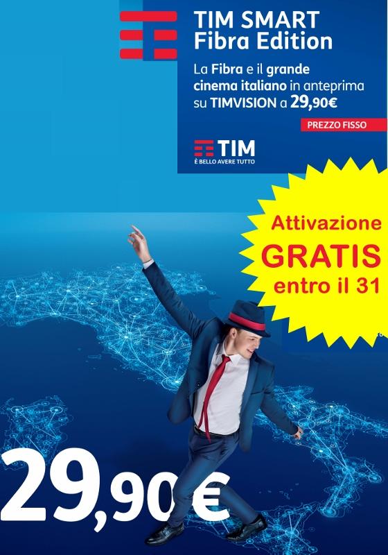 Ultimi giorni per attivare Fibra Limited Edition di TIM