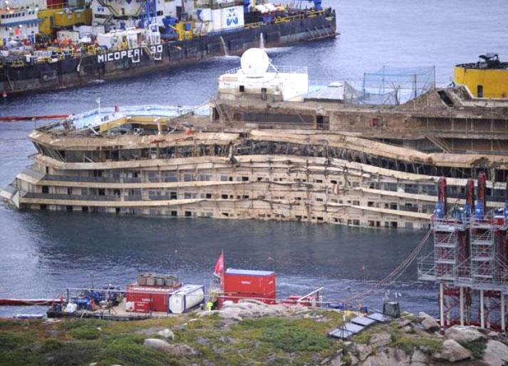 «Lavoriamo per far restare la Concordia in Italia»