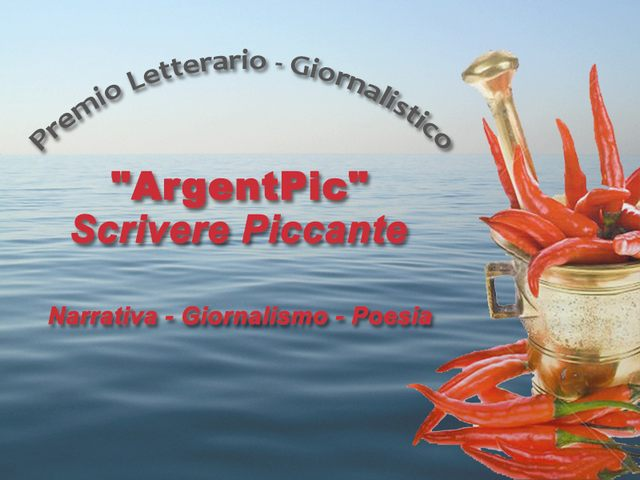 Torna ArgenPic scrivere piccante: scadenza presentazione opere il 31 maggio