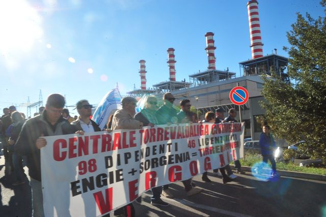 Tirreno Power, l'Ugl organizza un sit – in a Palazzo del Pincio