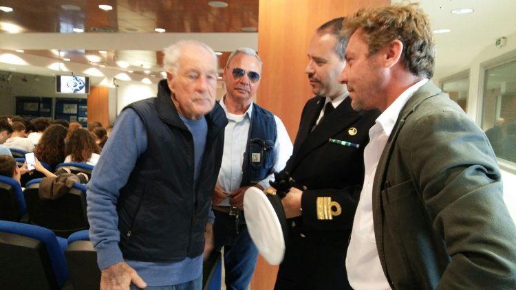 Sicurezza in navigazione: Ernesto Tross incontra gli studenti del nautico
