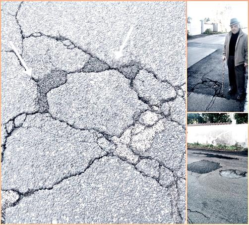 ''Finti'' lavori stradali