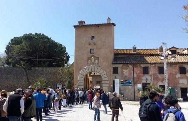 Boom di visitatori per la riapertura del Castello