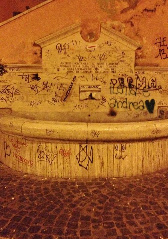 Al Ghetto  degrado e abbandono del fontanile